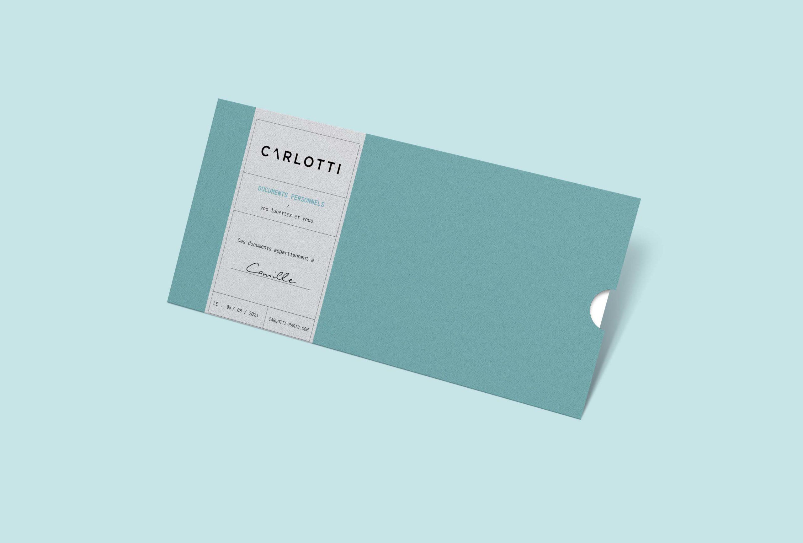 Enveloppe Clients – Carlotti